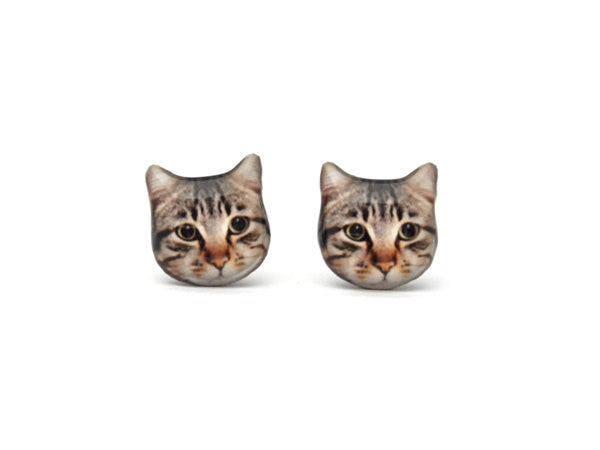 CAT EARRINGS (Short Hair)
