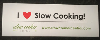 Sticker - I HEART SLOW COOKING!