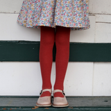 Lamington Merino Tights in Ivy