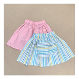 Henrietta Twirl Skirt in Beachy Stripe