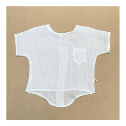 Parker Tunic Shirt in White