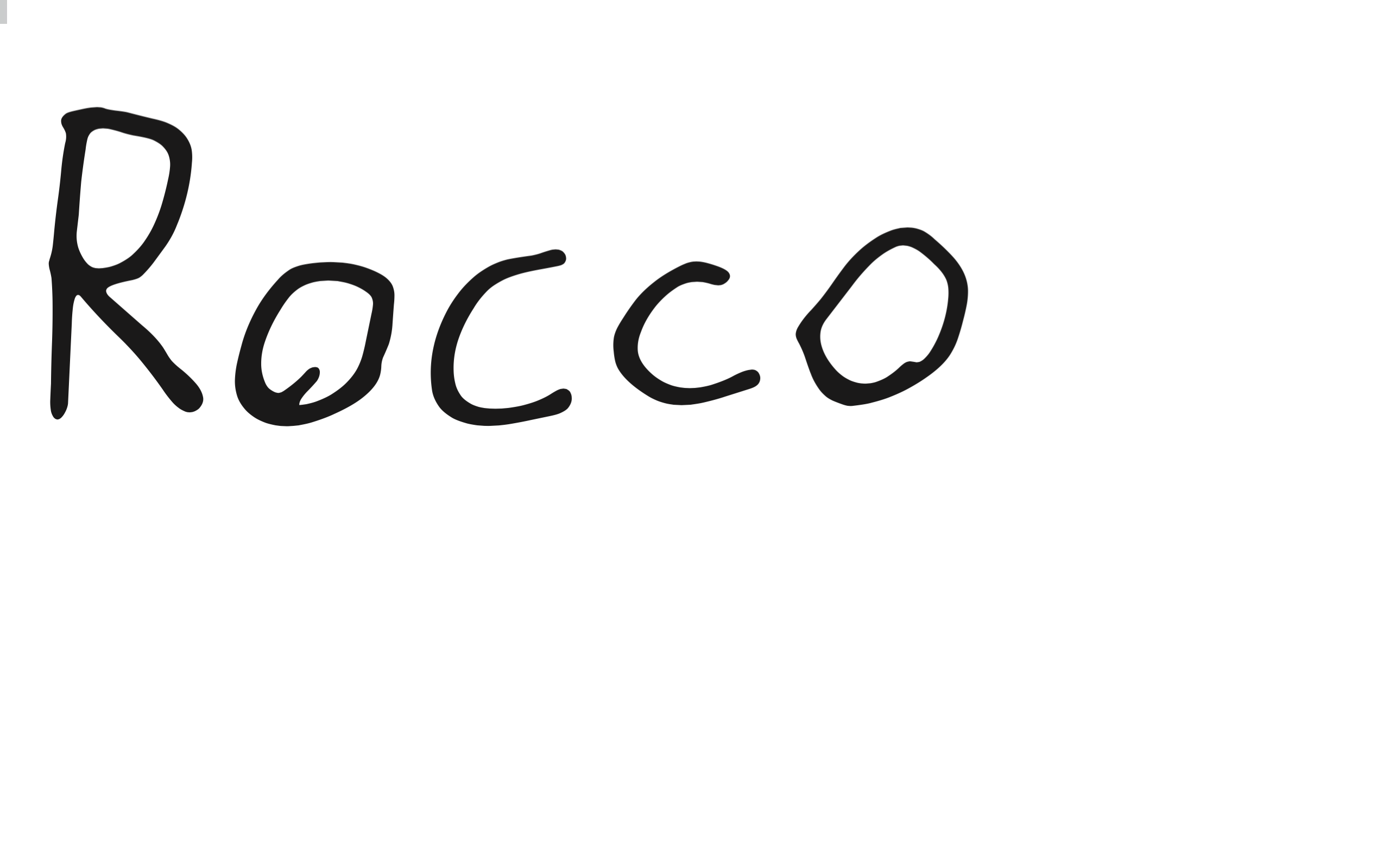 Rocco's Online Store