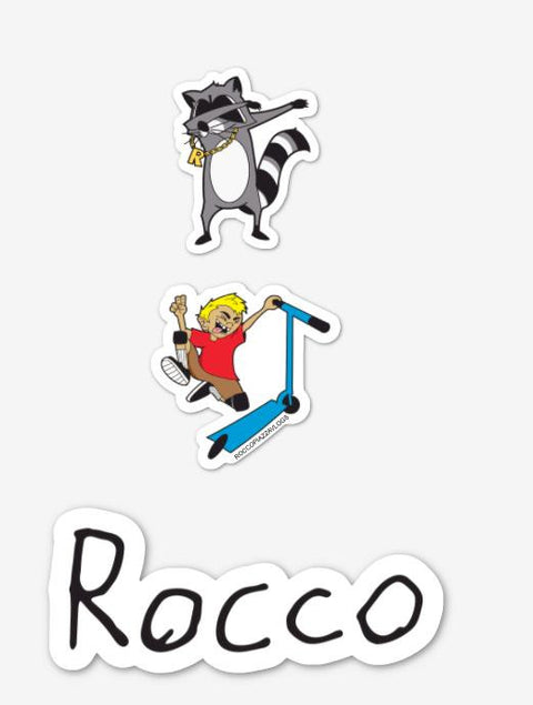 3 Sticker Pack