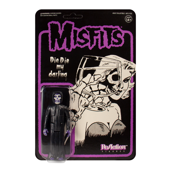 REACTION SUPER7 - Die Die My Darling Misfits Fiend ReAction Figure