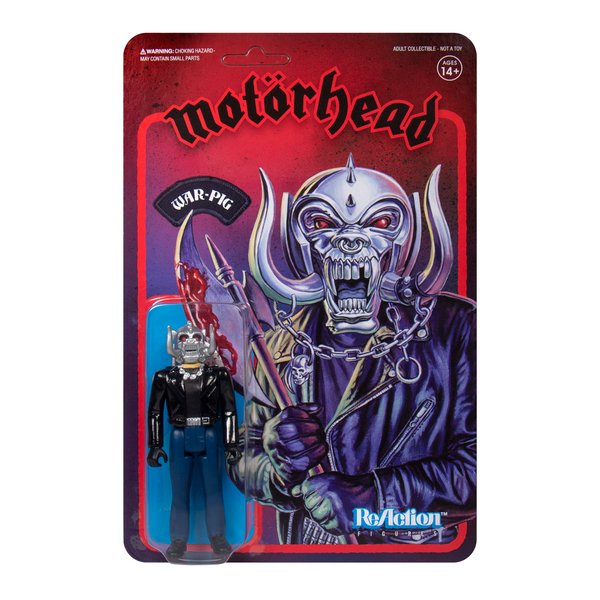 REACTION SUPER7 - Motorhead War Pig  ReAction Figure