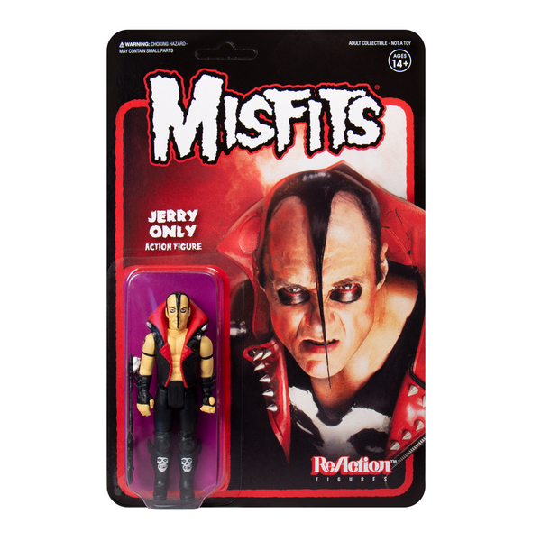 REACTION SUPER7 - Jerry Only Misfits Fiend ReAction Figure