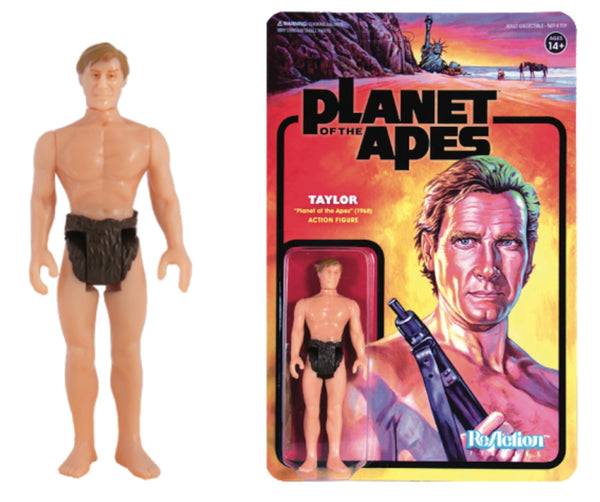 REACTION SUPER7 -Planet of the Apes Taylor ReAction Figure