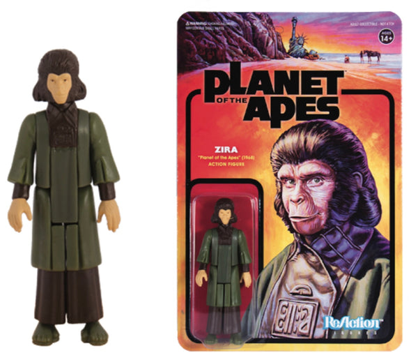 REACTION SUPER7 -Planet of the Apes Zira ReAction Figure