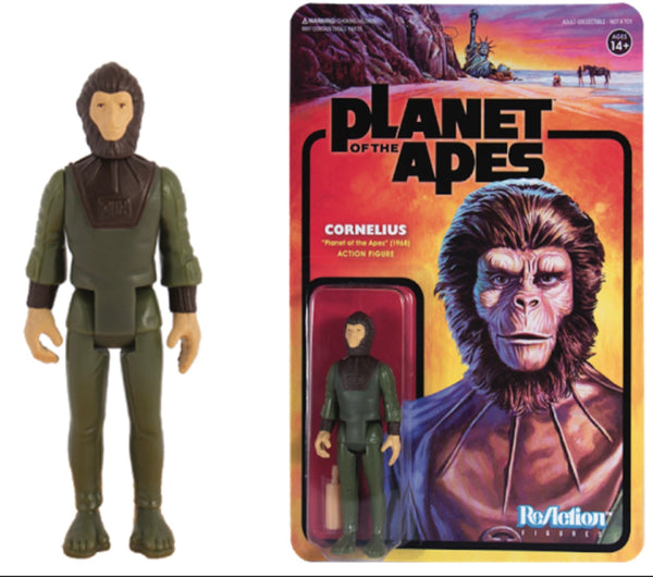 REACTION SUPER7 -Planet of the Apes Cornelius ReAction Figure