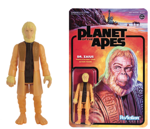 REACTION SUPER7 -Planet of the Apes Dr. Zaius ReAction Figure