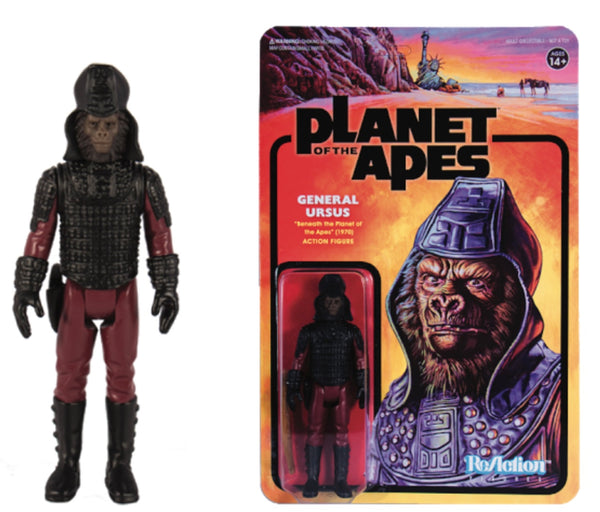 REACTION SUPER7 -Planet of the Apes  General Ursus ReAction Figure
