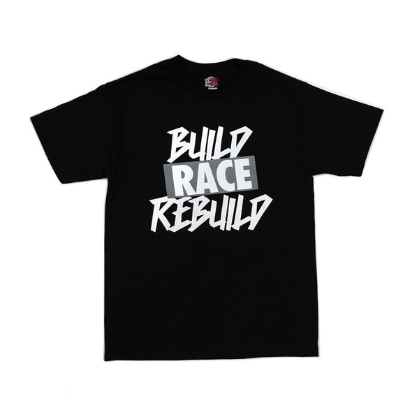 Eat Sleep Race - Build Rebuild T-Shirt