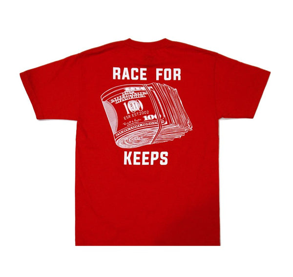 Eat Sleep Race - Race for Keeps T-Shirt