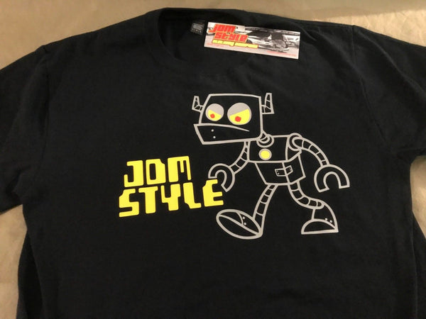 JDM-Style Clothing  - RETRO ROBOT LOGO T-Shirt