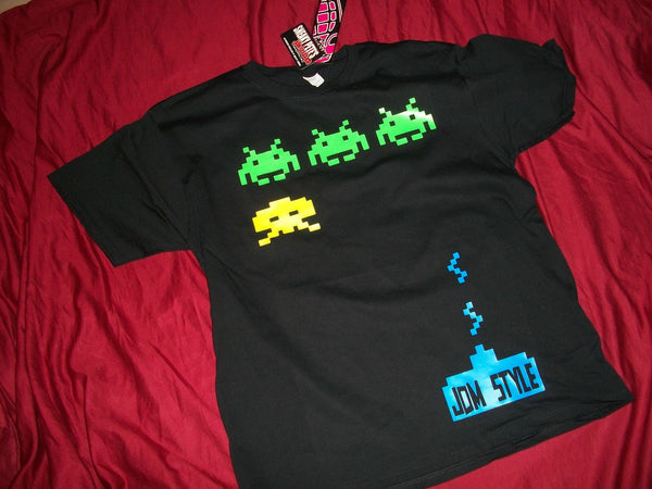 JDM-STYLE CLOTHING -SPACE INVADERS T-Shirt