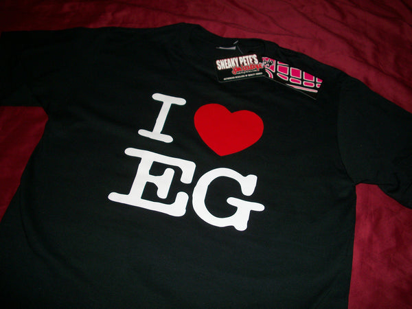 JDM-STYLE Clothing -  I LOVE EG HONDA  T-Shirt