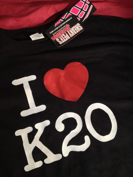 JDM-Style Clothing - I LOVE K20 T-Shirt