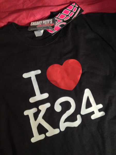 JDM-Style Clothing - I LOVE K24 T-Shirt