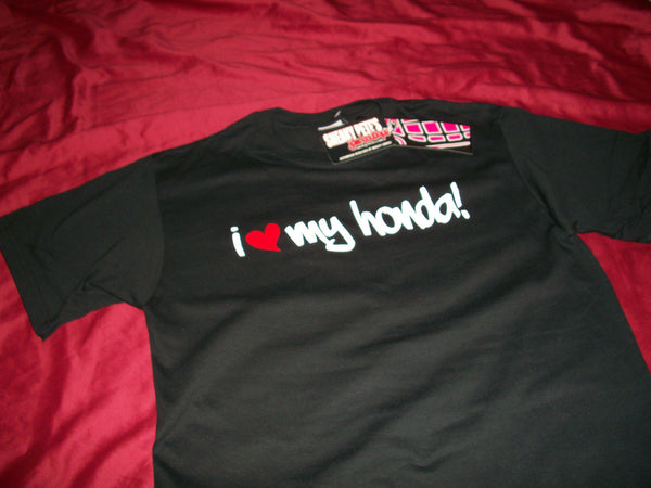 JDM-STYLE CLOTHING -I LOVE MY HONDA T-SHIRT