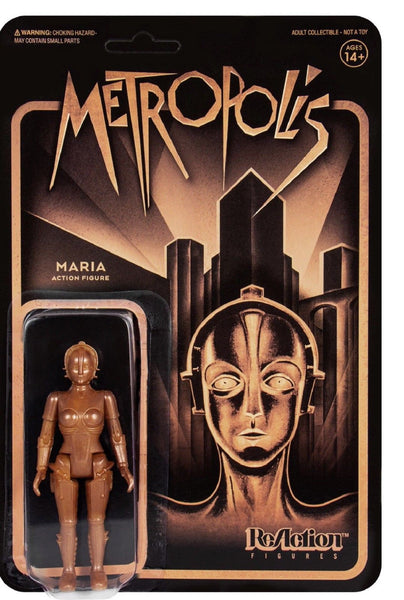 REACTION SUPER7 - Metropolis Maria ReAction Figure
