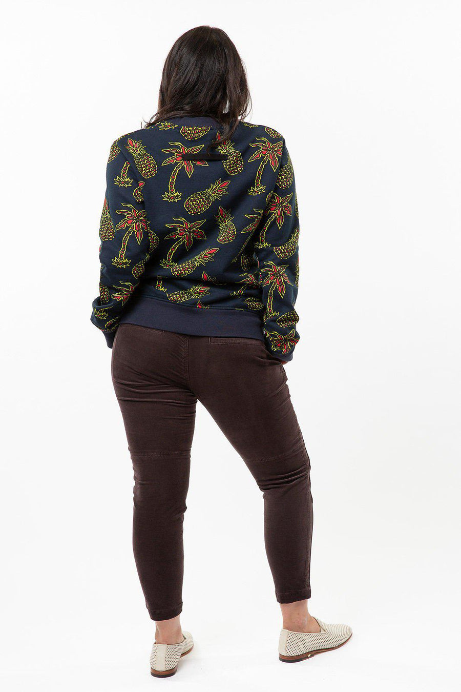 Miles Pineapple Crewneck Sweatshirt