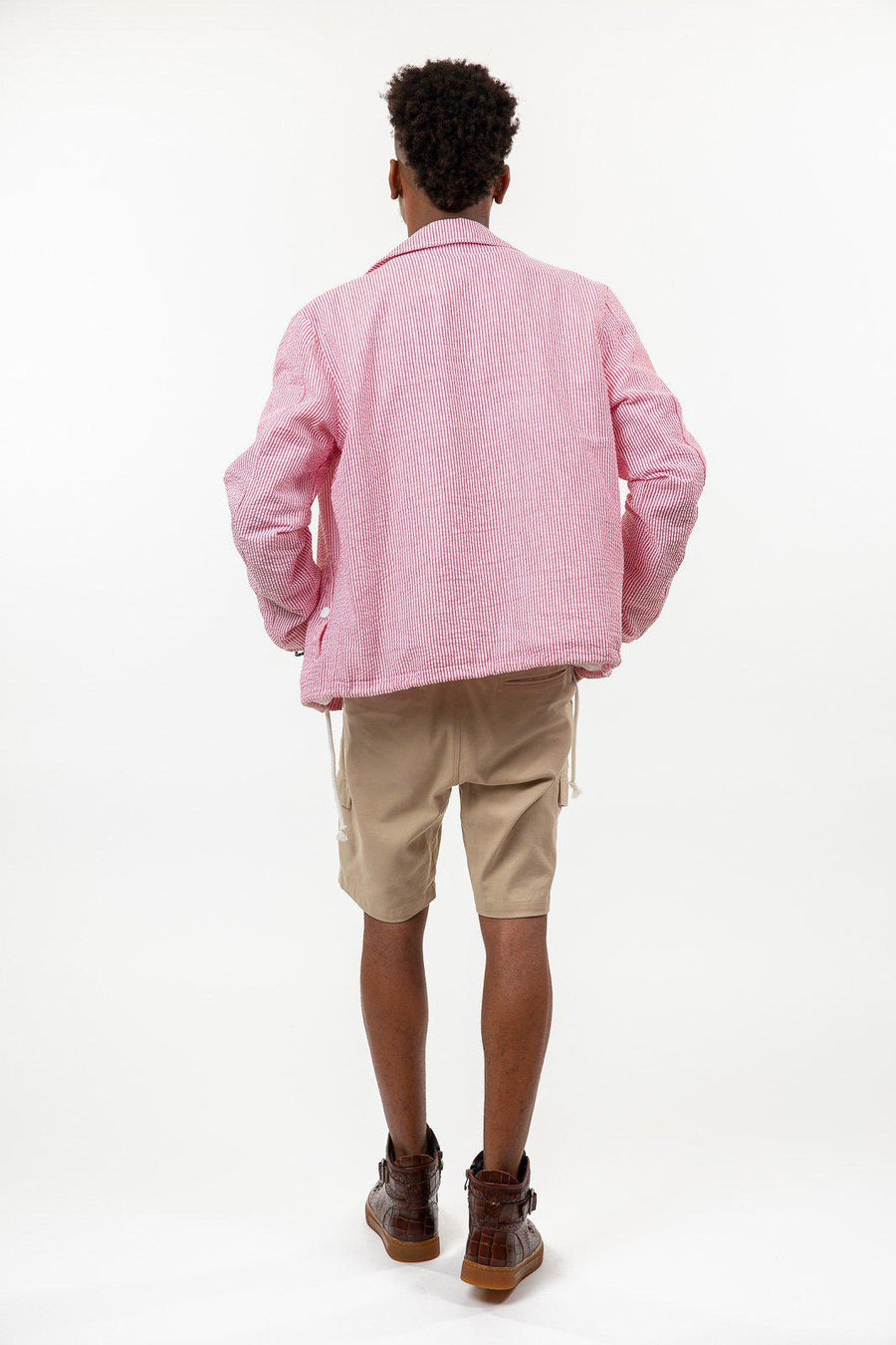 Seersucker Coach Jacket