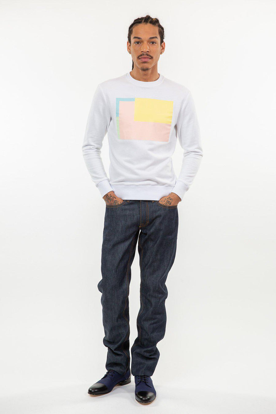 Cubix Graphic Sweatshirt