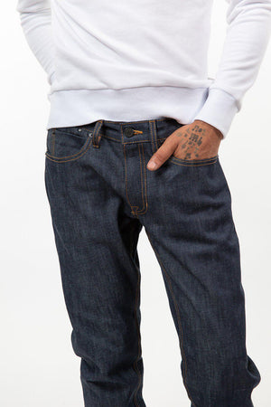 Grand St. Selvedge Raw Denim Jeans