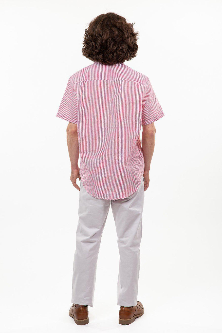 Seersucker Short Sleeve Shirt