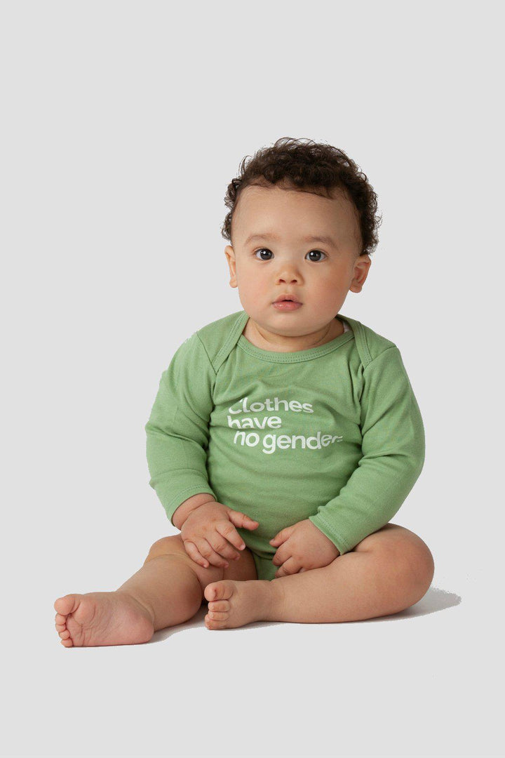 Long Sleeve Organic Onesie