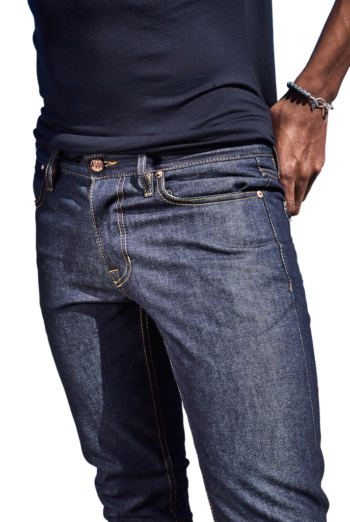 Hope St. Slim Tapered Raw Denim Jeans-Jeans-Williamsburg Garment Company-RIGit
