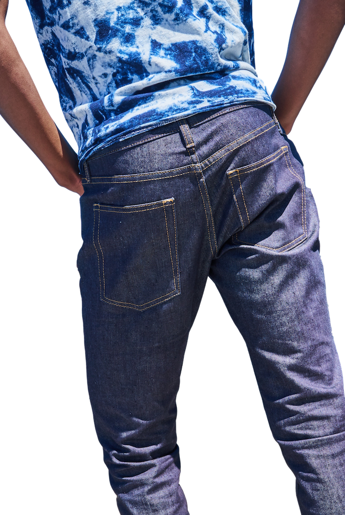 Hope St. Stretch Slim Tapered Jeans-Jeans-Williamsburg Garment Company-RIGit