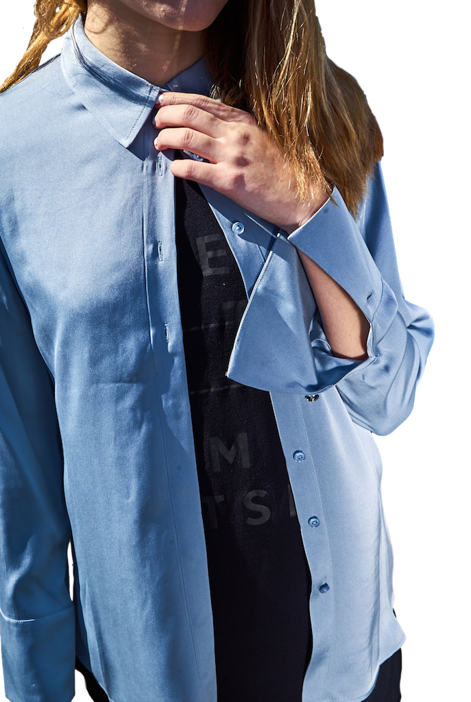 Silk Jo Blouse-Shirts-Jordan Louis-RIGit