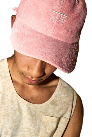 "Suede ""Qilogram"" Dad Hat-Accessories-Qilo-OS-Pink-RIGit"