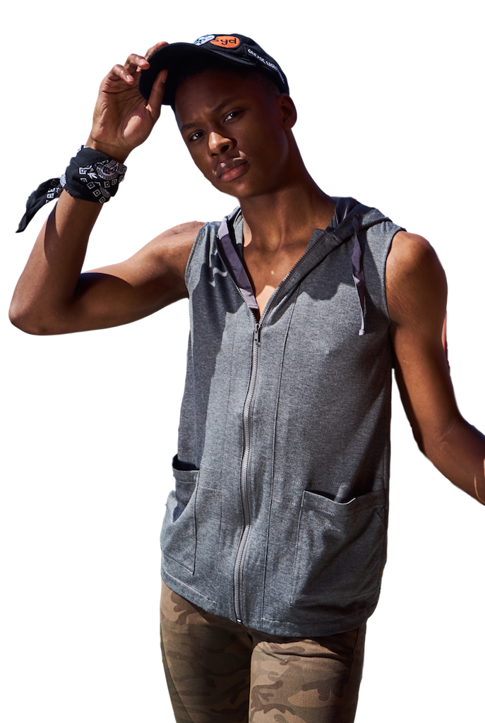 Talia Hooded Sport Vest-Shirts-Jordan Louis-RIGit