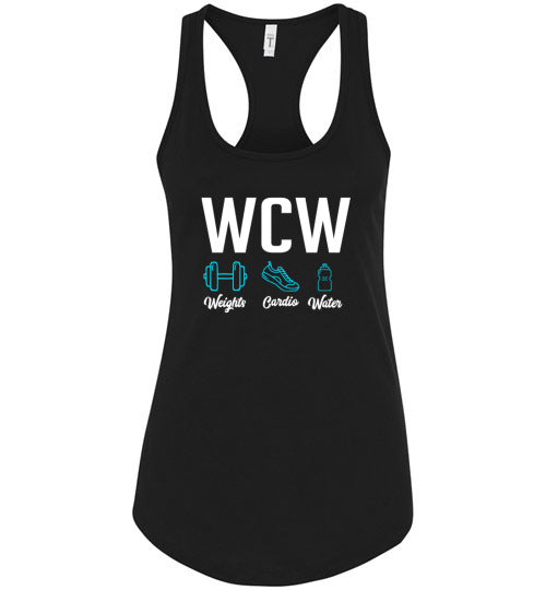 WCW Ladies Racerback Tank Top - IMPOWER Apparel