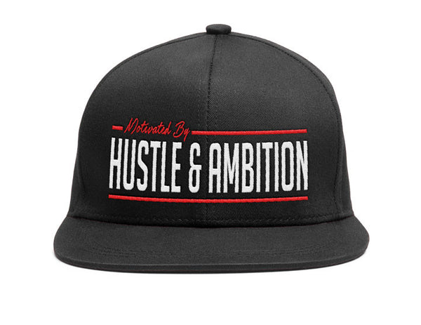 Hustle and Ambition Snapback Hat - IMPOWER Apparel