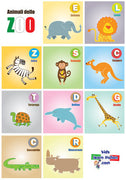 Animali dello ZOO Poster