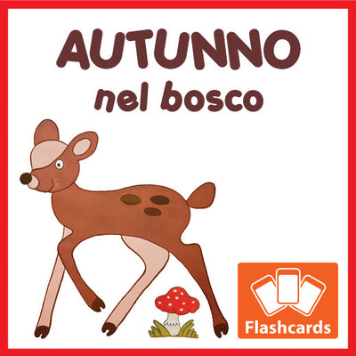 Autumn Flash Cards x 18 - Full Set