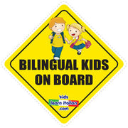 Bilingual on Board Sign