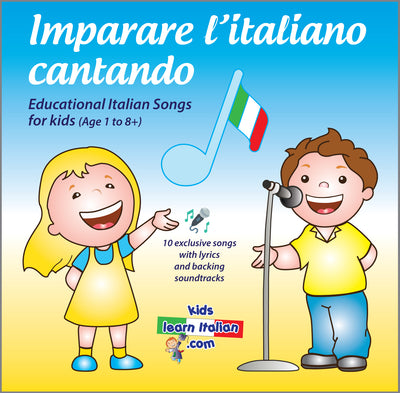 Album of Italian Songs for Kids