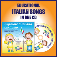 Album of Italian Songs for Kids CD Version