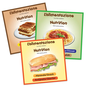 Food & Nutrition Flashcards x 50 - Full Set