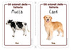 Farm Animals Flashcards x 4 - FREE