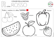 R come ROSSO - Worksheet