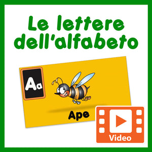 Italian Letters of the Alphabet Video