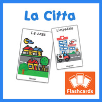 The City Flashcards x 16 - Full Set