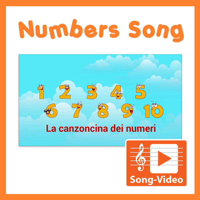 Numbers (1 - 10) - Song Video