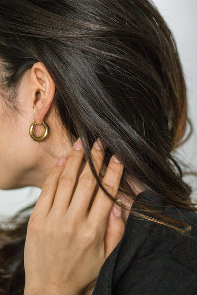 Freja Hoop Earrings