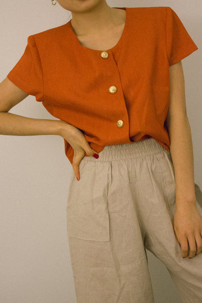 The Astrid Blouse